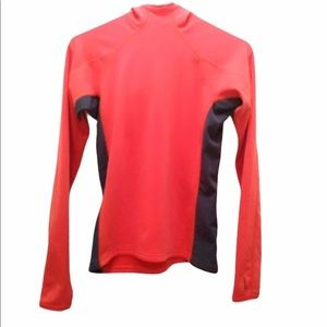 Running Hoodie Thermal Red Size Small